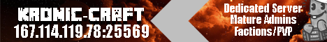 [] Kronic-Craft [] Kronic Nations Tekkit Classic Server []