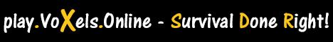 Voxels Online - Survival Done Right!