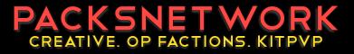 PacksNetwork - CREATIVE, WORLEDIT, OP FACTIONS 1.10.x