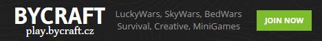 ByCraft.cz - MiniGames & Survival & SkyBlock & Creative