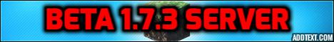 Minecraft Beta 1.7.3 Server