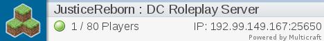 Justice Reborn DC Roleplaying Server