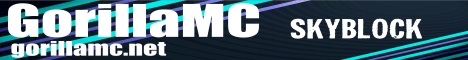 NEW | GorillaMC | SkyBlock