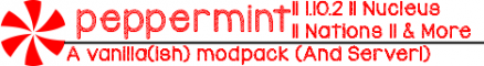 ❄Peppermint❄ NEW Technic Server/Modpack
