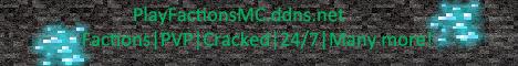 PlayFactionsMC 24/7 Factions