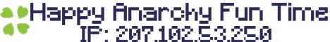 Pure Vanilla Minecraft, Anarchy