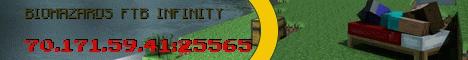 Biohazards FTB infinity server