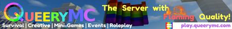 QueeryMC LGBTQ+ Friendly Server!