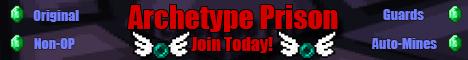 Archetype Prison Server - Classic - Non-OP - Guards