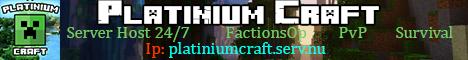 Platinium Craft server Host 24//