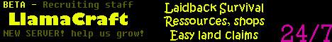 LlamaCraft Online