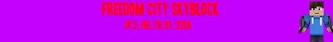 Freedom City SkyBlock