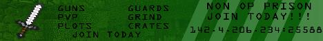 [NEED STAFF] PRISON - GUNS - PVP - GRIND [LockDownMC]