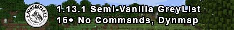 MinersPlay | Semi-Vanilla | 16+ | GreyList | Dynmap | Discord | 1.13.2