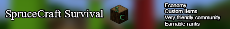 SpruceCraft Survival