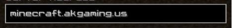 AKGaming Survival Minecraft