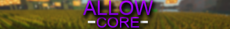 AllowCore [Hub] [Survival] [MCMMO] [Crates] [UHC]
