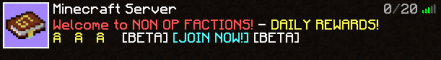 Non Op Factions
