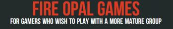 Fire Opal Games (Mature Gamers)