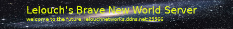 Lelouch's Brave New World Pack Official Server