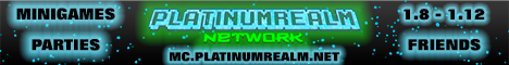 PlatinumRealm Network (1.8 - 1.12)