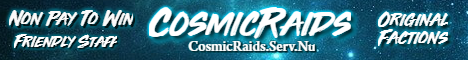 CosmicRaids OG Non Pay To Win Factions