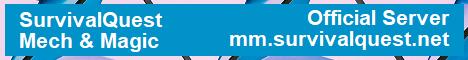 SurvivalQuest - Mech & Magic Modpack Official Server
