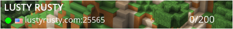 Gamers Unite's Lusty Rusty Minecraft Server