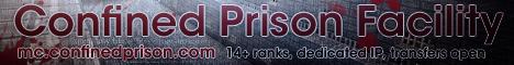 Confined Prison Facility [1.7 - 1.12] | Classic Prison Server | Separate Prestige Prison | Newly Re-released