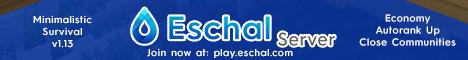 Eschal Oceania Server (Minimalistic Survival)