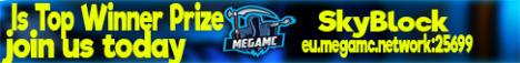 MegaMC SkyBlock Is Top Winner Price