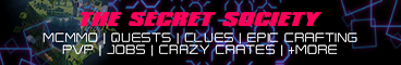 The Secret Society | AUS PVP | McMMO +More