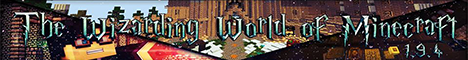 TWWOM - The Wizarding World of Minecraft - HARRY POTTER [1.10+]