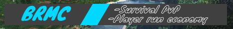BRMC Survival PvP [Stock Market, Auctions, Player Shops!]