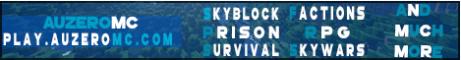 AuzeroMC Skyblock