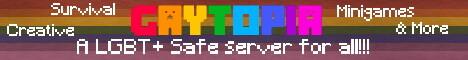 Gaytopia - LGBT+ Safe | Survival, Creative, Minigames, & More!