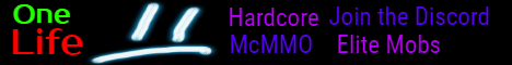 OneLife [Hardcore] 1.14.3 [NEED STAFF]