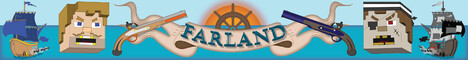 Farland 1.0: ⚔ Adventure ⚔, ☠ PvP ☠, ᛩ Guilds ᚹ, ⚓ Ships ⚓, ⧈ Cannons ⧈, ⁂ Guns ⁂, and more!
