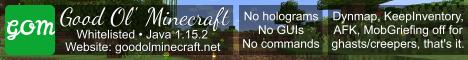 Good Ol' Minecraft
