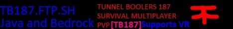 tunnel boolers 187 Java and Bedrock Vanilla Survival PvP 1.17.1