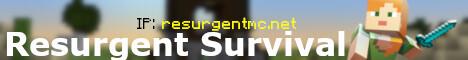 Resurgent Survival [1.16.5 - 1.17] [ECONOMY] [RANKUP] [JOBS] [LAND CLAIM] [MCMMO]