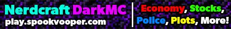NerdCraft DarkMC: DarkRP in Minecraft [1.16, Custom Plugin]