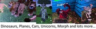 Dinosaurs, Unicorns, Planes, Cars, Morph and LOTS more