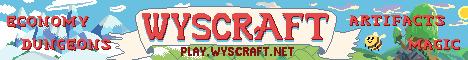 Wyscraft » Bedrock+Java, 100+ Custom Items/Mobs, Magic, Dungeons, Slimefun