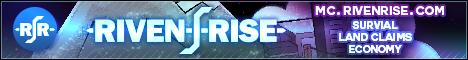RivenRise - New! | 1.17.1 | Economy | No-Grief | Badges | Events