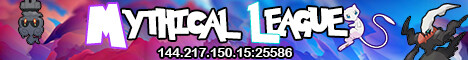 Mythical League Pixelmon {{[Shiny Starters]}} {{[2x Shiny Spawn Chance]}} {{[Battle Tower}}] {{[Loot Crates]}} and More!