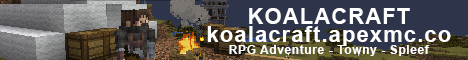 Koala Craft - RPG Classes - Towny Survival - Minigames