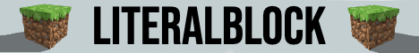 LiteralBlock (Skyblock server)