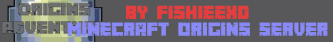 My Minecraft origins Server
