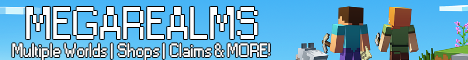 MegaRealms ► 1.17.1 ► Make Friends ► Survival ► Fresh World/New Server!